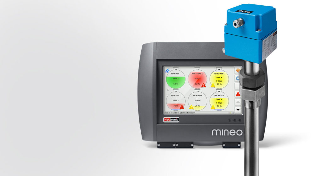 měření hladin Hectronic Mineo
