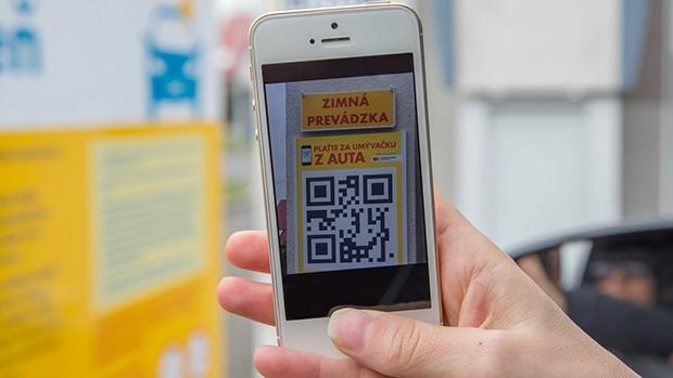 Shell mobilní platby automyčky